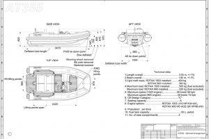 Boats for Sale in London UK - Grosvenor Yachts - Agilis Jet Tender 355
