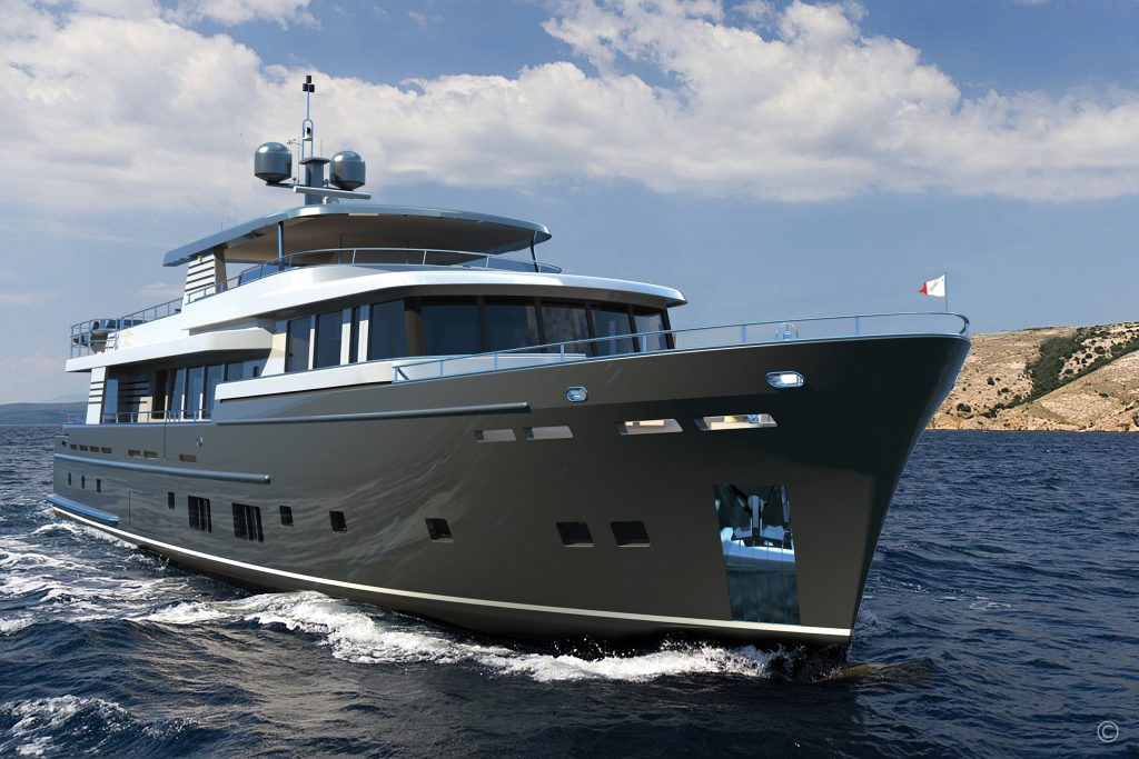 Yachts for Sale in London UK - Grosvenor Yachts - Van der Valk Explorer 37m