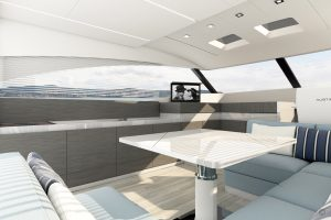 Yachts for Sale in London UK - Grosvenor Yachts - Austin Parker 54 Mahon MY