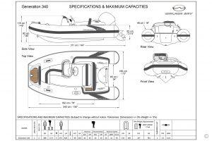 Boats for Sale in London UK - Grosvenor Yachts - Walker Bay Generation DLX 340
