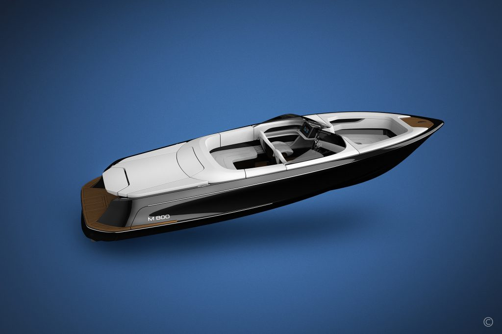 Boats for Sale in London UK - Grosvenor Yachts - Marian M800 Spyder