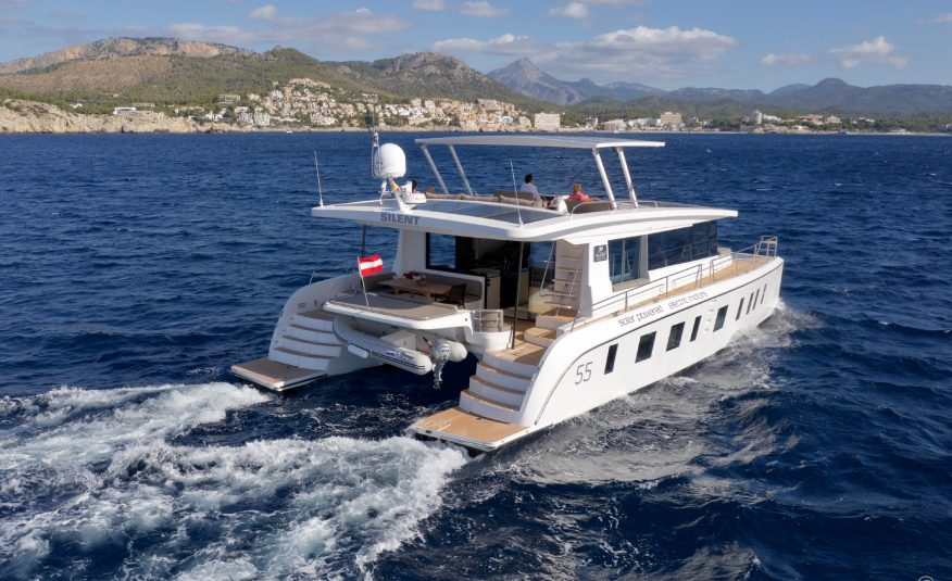 Silent Yachts 55