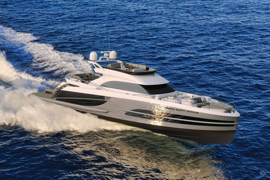 Yachts for Sale in London UK - Grosvenor Yachts - Van der Valk BeachClub 740