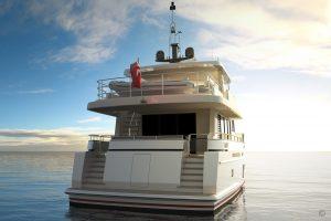 Yachts for Sale in London UK - Grosvenor Yachts - Van der Valk Explorer 21m