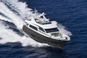 Yachts for Sale in London UK - Grosvenor Yachts - Van der Valk Flybridge 25m