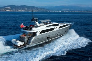 Yachts for Sale in London UK - Grosvenor Yachts - Van der Valk Raised Pilothouse 26m