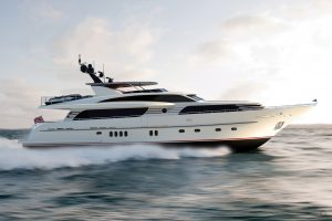 Yachts for Sale in London UK - Grosvenor Yachts - Van der Valk Raised Pilothouse 30m