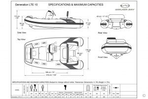 Boats for Sale in London UK - Grosvenor Yachts - Walker Bay Generation 10 LTE
