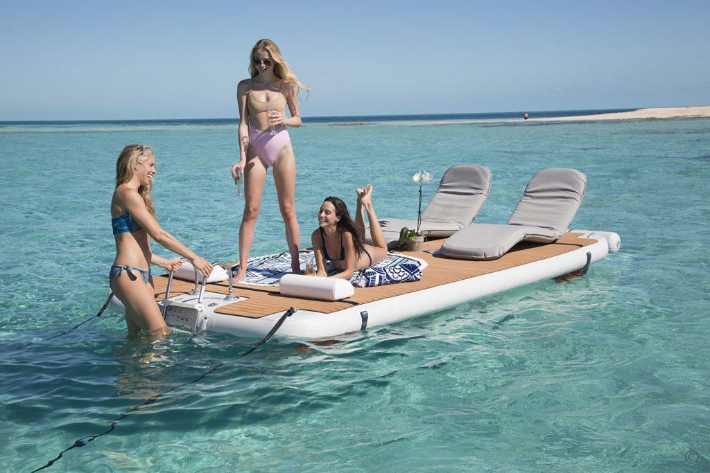 Yachts for Sale in London UK - Grosvenor Yachts - Nautibuoy Inflatable Voyager Platform