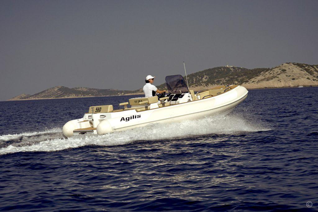 Boats for Sale in London UK - Grosvenor Yachts - Agilis 560 Jet Tender