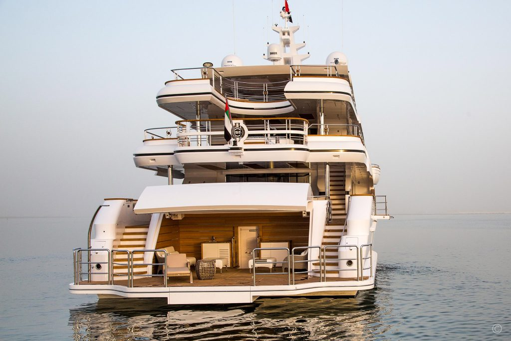 Yachts for Sale in London UK - Grosvenor Yachts - Gulf Craft Majesty 155