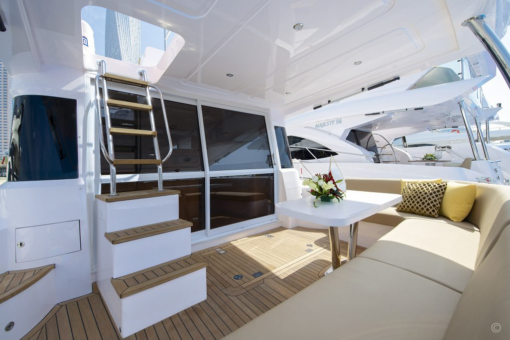 Yachts for Sale in London UK - Grosvenor Yachts - Gulf Craft Majesty 48